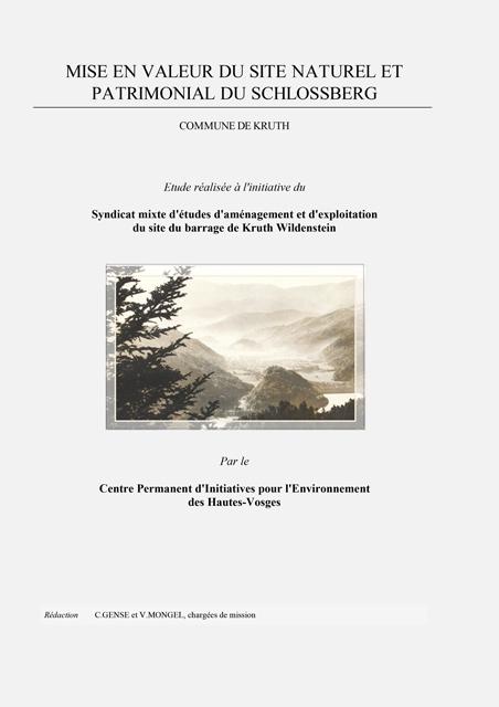 Mise en valeur du site naturel et patrimonial du Schlossberg