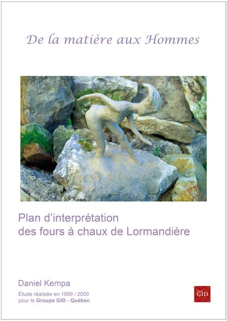 Plan d'interprétation des fours à chaux de Lormandière