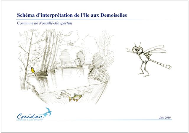 Schéma d'interprétation de l'Île aux Demoiselles